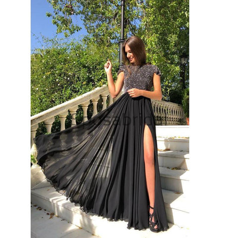 products/Black_Sequin_Chiffon_Side_Slit_Cap_Sleeves_Unique_Modest_Long_Elegant_Prom_Dresses_1.jpg