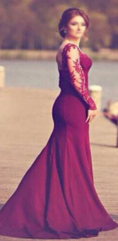 products/Burgundy_Jersey_Long_Sleeve_Lace_Wedding_Dresses_Popular_Prom_Dresses_WD0060.jpg