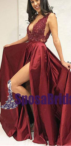 products/Burgundy_V_Neck_Lace_Applique_Side_Split_Sexy_Formal_Long_Prom_Dresses_Fashion_burgundy_evening_dress_PD0748.jpg