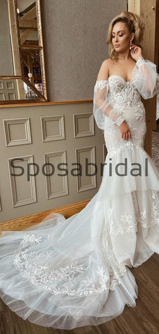 products/CharmingMermaidLaceVintageCountryModestWeddingDresses_1.jpg