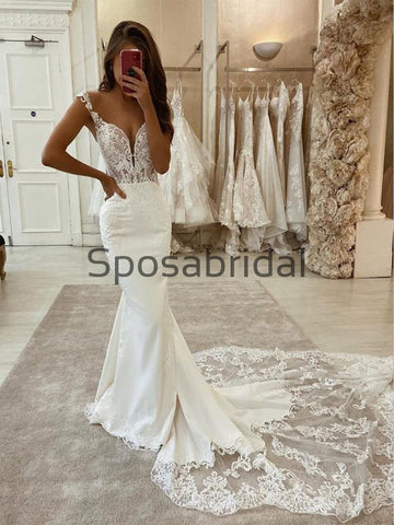 products/CharmingMermaidUniqueLaceVintageLongModestWeddingDresses_2.jpg