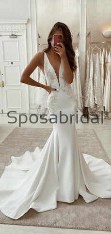 products/CharmingMermaidV-NeckSatinSimpleUniqueLaceWeddingDresses_2.jpg