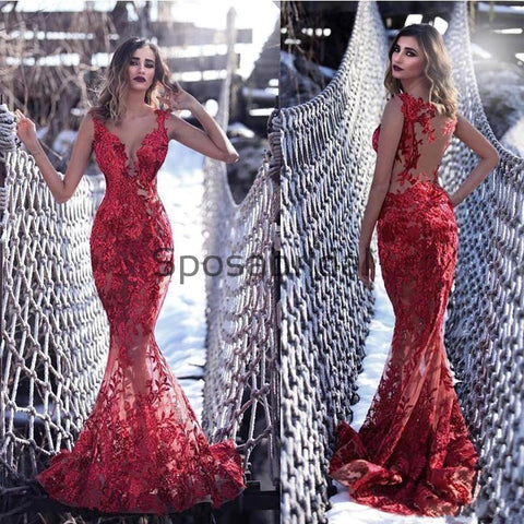 products/CharmingSexyRedLaceMermaidModestPromDresses_1.jpg