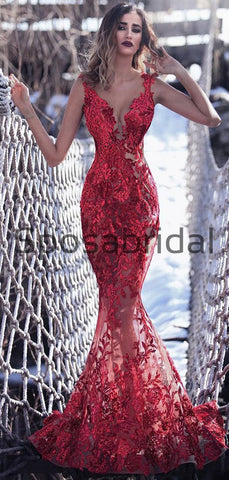 products/CharmingSexyRedLaceMermaidModestPromDresses_2.jpg