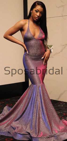 Charming Sexy Stunning Long Elegant Mermaid Prom Dresses PD2306