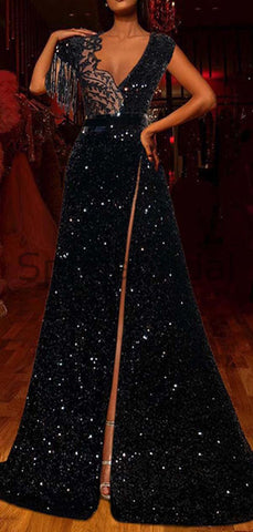 products/Charming_A-line_Black_Sequin_Sleeveless_Unique_Modest_Prom_Dresses_Evening_Dress_2.jpg