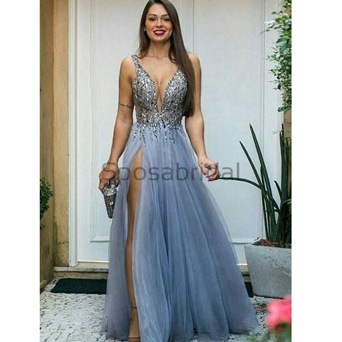 products/Charming_A-line_V-Neck_Blue_Tulle_Sequin_Sparkly_Shining_Elegant_Formal_Modest_Prom_Dresses_2.jpg