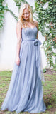 Charming Tulle Off Shoulder Sweetheart Bridesmaid Dresses, PD0460