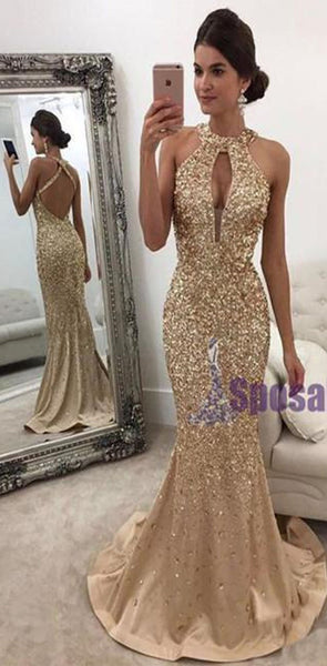 Charming Custom Grey Beading Sparkly Newest Fashion Popular Prom Dresses, Evening party dress, PD0607