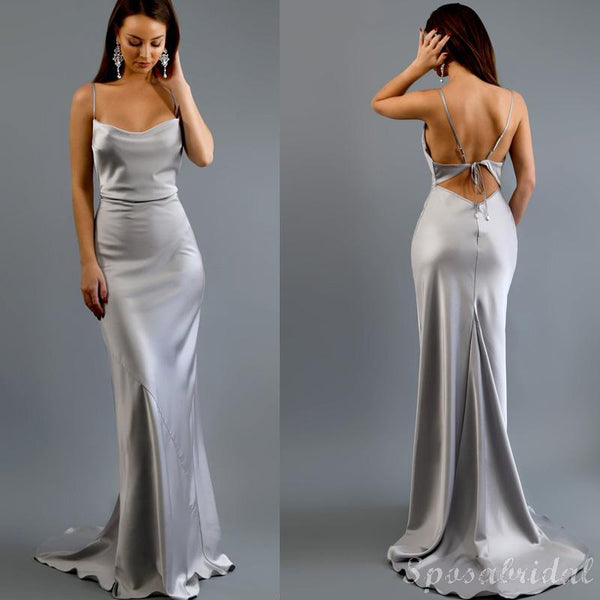 Charming Beading Sparkly Pretty Modest Long Gorgeous Custom Long Prom Dresses, PD1390