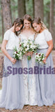Charming Newest Most Popular Handmade Short Sleeves Pretty Comfortable Bridesmaid Dresses, PD0521