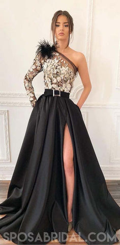 products/Charming_One_Shoulder_A-line_Uniqe_Design_Black_Satin_Side_Split_Prom_Dresses_with_Appliques.jpg