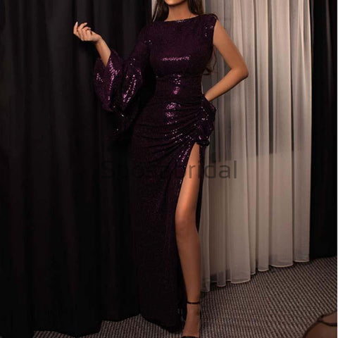 products/Charming_One_Shoulder_Sequin_Purple_Side_Slit_Unique_Modest_Prom_Dresses_Evening_Dress_2.jpg