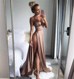 Charming Sexy Cheap Modest Unique Design Prom Dress, Long Popular Bridesmaid Dresses, PD0366 - SposaBridal
