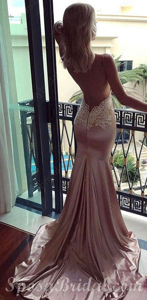 Charming Sexy Mermaid Sexy Elegant Modest Lace Long Prom Dresses, Prom Dress,PD1326