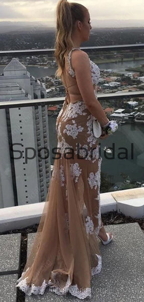 Charming Unique Elegant Sexy Lace Mermaid Modest Fashion Prom Dresses, Prom Dress PD1888