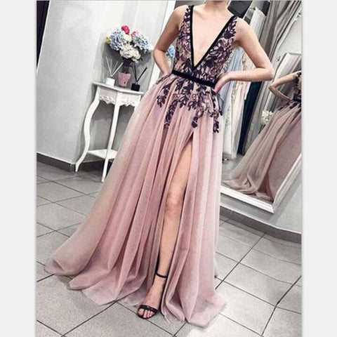 products/Cheap_Pink_V-Neck_Tulle_Lace_Long_Prom_Dresses_Charming_tulle_evening_dress_2.jpg