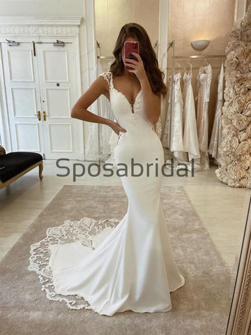 products/CountryVintageMermaidSatinElegantWeddingDresses_ModestPromDresses_1.jpg