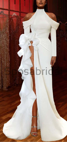 products/Custom_Mermaid_White_High_Neck_Long_Sleeves_Unique_Modest_Prom_Dresses_2.jpg