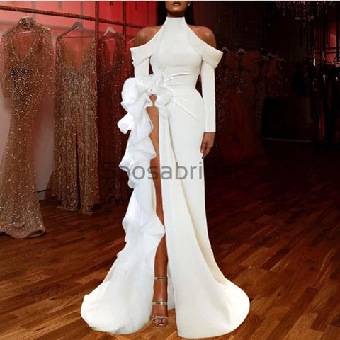 products/Custom_Mermaid_White_High_Neck_Long_Sleeves_Unique_Modest_Prom_Dresses.jpg