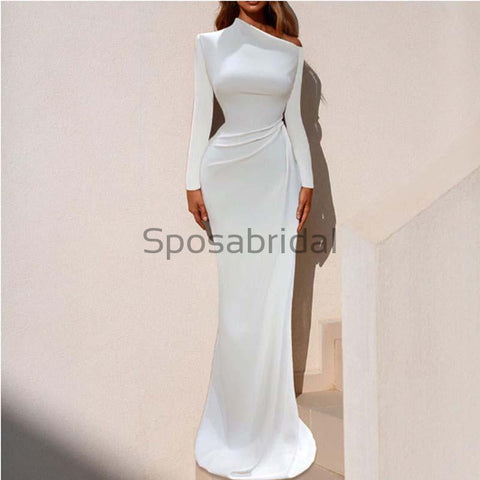 products/Custom_Mermaid_White_Simple_Long_Sleeves_Elegant_Unique_Modest_Prom_Dresses_1.jpg
