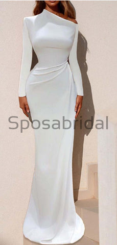 products/Custom_Mermaid_White_Simple_Long_Sleeves_Elegant_Unique_Modest_Prom_Dresses_2.jpg