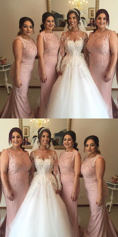 products/Custom_Strapless_Long_Blush_Pink_Mermaid_Top_Lace_Bridesmaid_Dresses_Wedding_Guest_Dresses_2.jpg