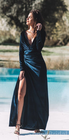 products/Deep_V_Neck_Long_Sleeves_Side_Slit_Modest_Velvet_Long_Formal_Elegant_Prom_Dresses_2.jpg