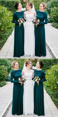 products/Elegant_Green_Long_Sleeve_Chiffon_Sheath_Backless_Beach_Bridesmaid-Dresses_PD0503.jpg