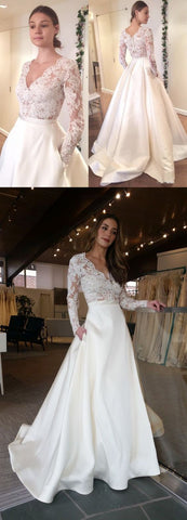 products/Elegant_Long_Sleeves_V-Neck_Top_Lace_Simple_Long_Wedding_Dresses_Party_Dress_Evening_Dresses.jpg