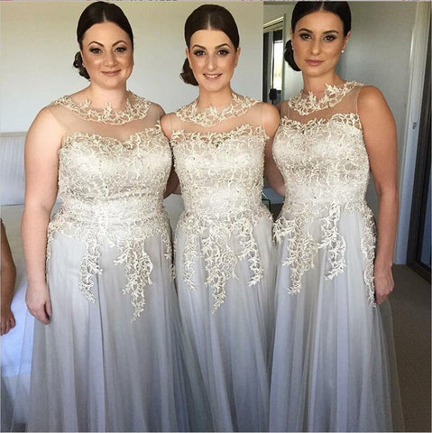 products/Elegant_Modest_Unique_Deisign_Round_Neck_Long_Grey_Tulle_and_Lace_Bridesmaid_Dresses_for_wedding_guest.jpg