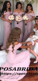 Formal Sexy Off the Shoulder Mermaid Long Bridesmaid Dresses WG333