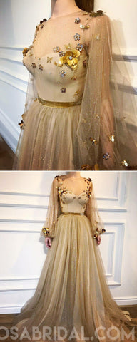 products/Gold_Elegant_Sparkly_Long_Sleeves_Round_Neck_A-line_Prom_Dresses_evening_dress_party_dress.jpg