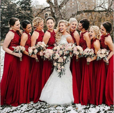 products/Hign_Neck_A-Line_Cheap_Modest_Popular_Formal_Long_Red_Bridesmaid_Dresses_with_Beads.jpg