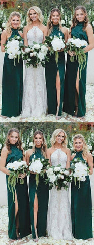 products/Long_High_Neck_Dark_Green_Cheap_Unique_Design_Bridesmaid_Dresses_with_Split_2.jpg