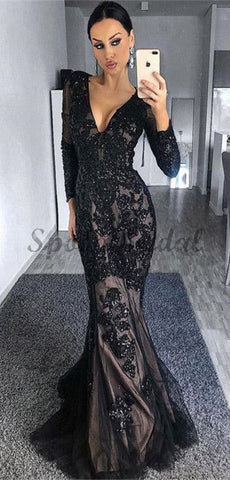products/Long_Sleeves_Black_Mermaid_Modest_Elegant_High_Quality_Long_Prom_Dresses.jpg