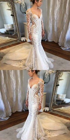 products/Long_Sleeves_Mermaid_V-Neck_Court_Train_Lace_Unique_Design_Newest_Long_Wedding_Dresses_WD0161.jpg