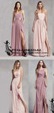 Mismatched A-line Sleeveless Cheap Formal Bridesmaid Dresses,WG339