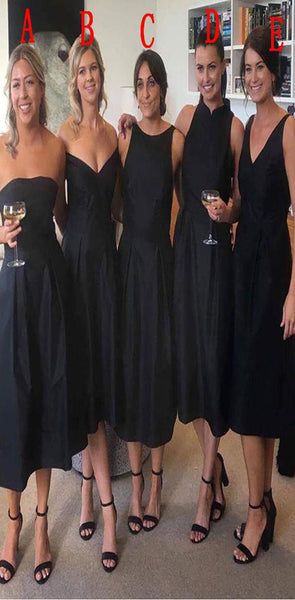 Mismatched Elegant Modest Popular Formal Hot  Short Bridesmaid Dresses, WG412