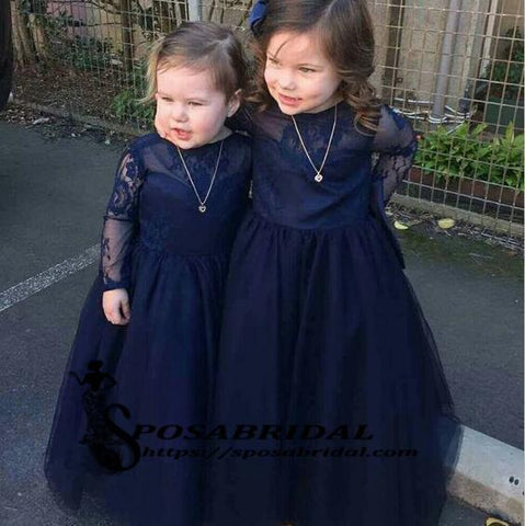 products/Navy_Blue_Top_Lace_Tulle_Long_Sleeves_V-B_ack_Soft_Discount_Custom_Flower_Girl_Dresses_with_bow.jpg