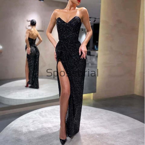products/New_Arrival_Black_Sequin_Mermaid_Sexy_Strapless_Sleeveless_Split_Prom_Dresses_1.jpg