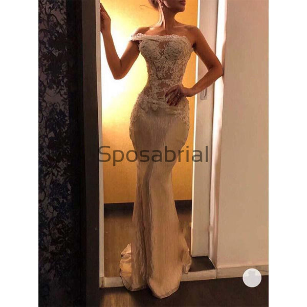 New Arrival Elegant Sexy Appliques Mermaid Formal Prom Dresses PD2062