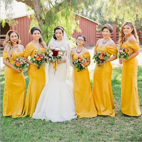 products/Off_the_Shoulder_Yellow_Mermaid_Modest_Elegant_Inexpensive_Simple_Bridesmaid_Dresses.png