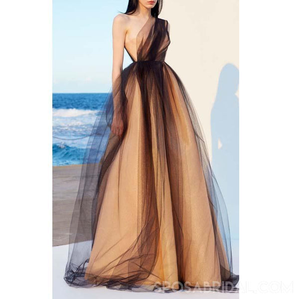 cb0d01b2b16 One Shoulder Prom Gowns