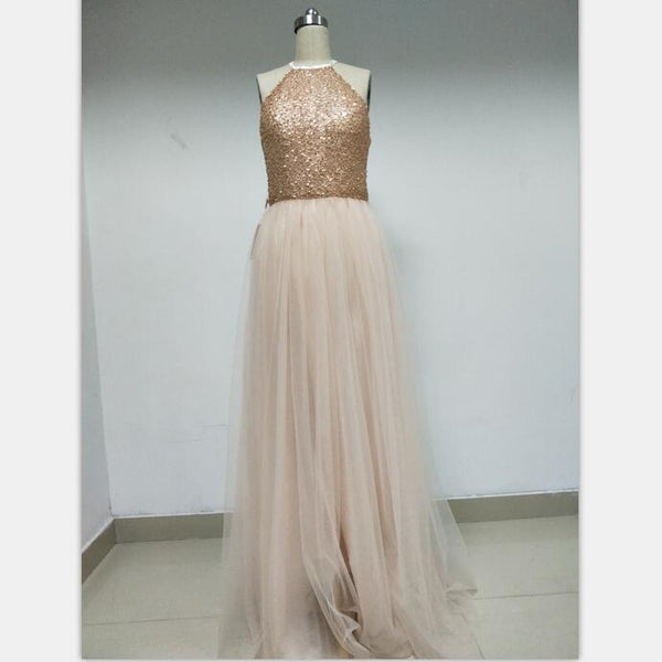 Discount Cheap Short in Size In Stock Sequin Tulle Prom Dresses Online,DD007