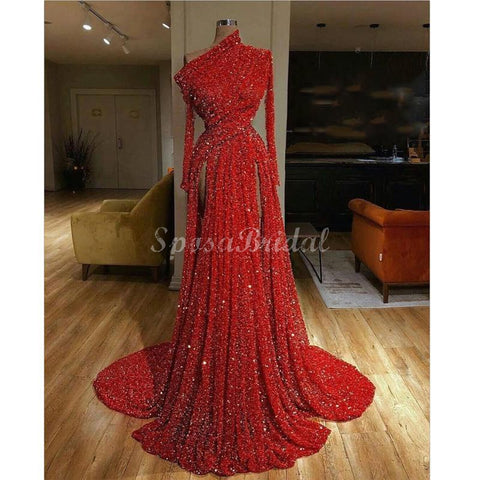 products/Red_Long_Sleeves_Sequin_Unique_Deisgn_Long_Prom_Dresses_with_slit_2.jpg
