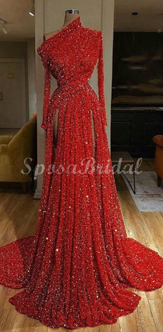 products/Red_Long_Sleeves_Sequin_Unique_Deisgn_Long_Prom_Dresses_with_slit.jpg