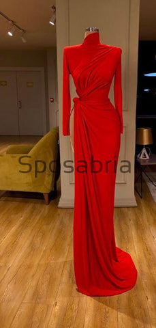 products/Red_Mermaid_Tight_Slit_Long_Sleeves_Simple_Modest_Prom_Dresses_2.jpg
