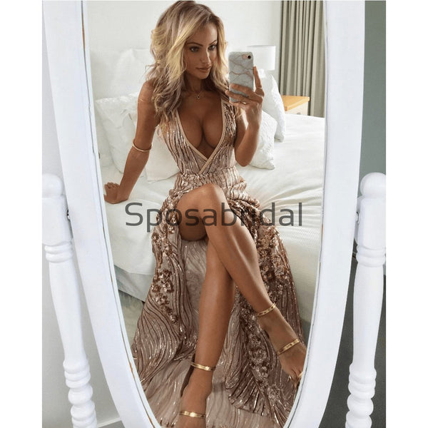Sexy Custom Real Made Modest Mermaid Prom Dresses PD2330