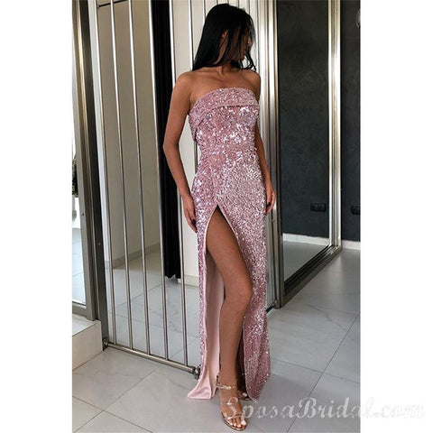 products/Sexy_Strapless_Rose_Gold_Sequins_Side_Slit_Prom_Dresses_Sleeveless_Elegant_Long_Evening_Dresses_2.jpg